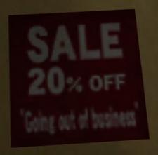Crislip's Home Saloon Sale