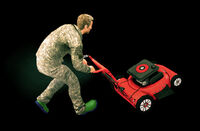 Dead rising lawn mower ready (2)
