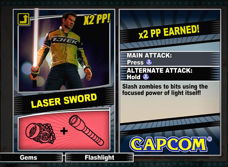 Laser Sword Dead Rising 2 Dead Rising Wiki Fandom