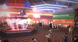 Dead rising Americana Casino Ride the Thunder