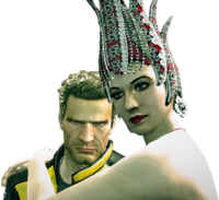 Dead rising lush close up with chuck