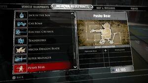Pushy Bear Blueprints