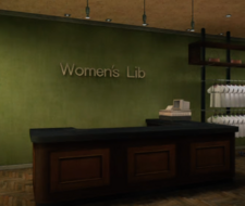 Women's Lib Counter