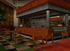 Chris' Fine Foods Seating Area