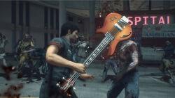 Dead rising 3 Bass Guitar (1)