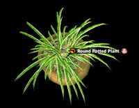 Dead rising PottedPlant 3 Round Potted Plant