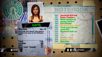Dead Rising nina notebook