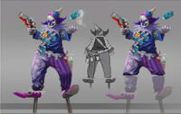 Dead rising 2 Off the Record concept art from main menu art page Adams brother (1)