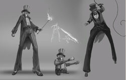 Dead rising 2 Off the Record concept art from main menu art page Adams brother (3)