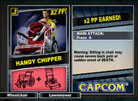Dead rising 2 combo card Handy Chipper