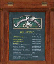 Dead rising colombian roastmasters menu