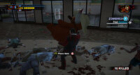 Dead rising hanging around place stuffed animal
