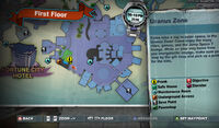 Dead rising shovel uranus zone near exit MAP