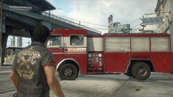 Los Perdidos Fire Truck
