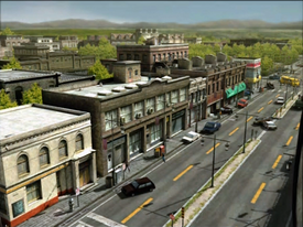 Dead rising main street beginning of game (6)