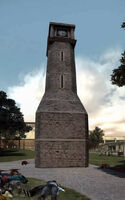 Dead rising leisure park clock tower PANORAMA