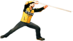 Dead rising broom handle combo