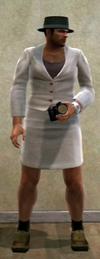 Dead rising clothing Gromins white skirt