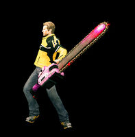 Dead rising giant pink chainsaw starting (1)