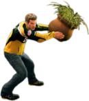 Dead rising round potted plant main