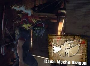 FlameMechaDragon
