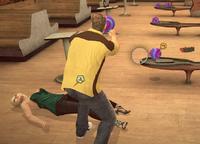 Dead rising case 0 grumpy dog bowling alley bowling