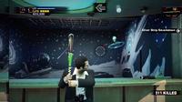 Uranus zone carnival games alien saucers with bat -- BATTING