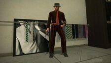 Dead rising brown suit