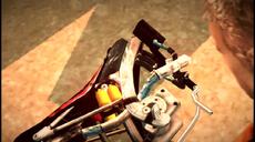 Dead rising 2 Case 0 case 0-3 cutscene 12 found bike