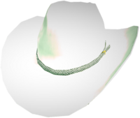Dead rising White Cowboy Hat