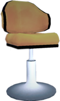 Dead rising Yellow Tall Chair 2