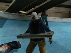 Dead rising skylight on zombie