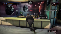 Uranus zone carnival games one eyed aliens hit by zombie hand