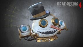 Dead Rising 4 - Steampunk Snowman Head