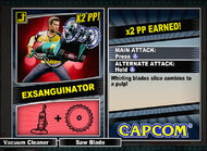 Dead rising 2 combo card Exsanguinator