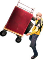 Dead rising drink cart holding 2