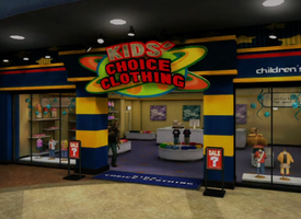 Kid's Choice Clothing Entrance