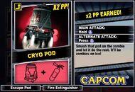 Dead rising 2 combo card Cryo Pod