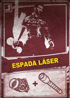 Tarjeta Raída DR2 - Espada láser