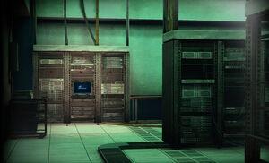 Dead rising Server Room