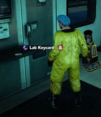 Dead rising lab keycard name