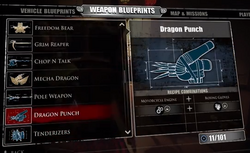 Dragon Punch Blueprints