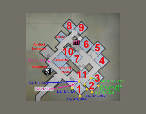 Dead rising 2 safe house map cordinates