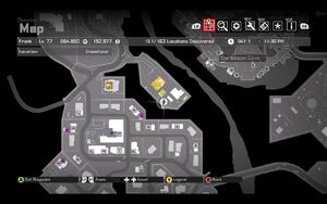 Cell Phone Hudson Farm Shooting Range Map