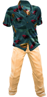 Dead rising Boardwalk Apparel