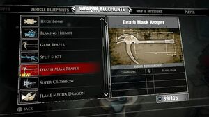 Death Mask Reaper Blueprints