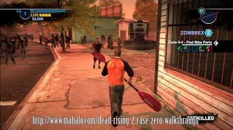Dead Rising 2 Case Zero - Armas combinadas - Remo-Sierra