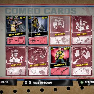 Combo Cards Dead Rising Wiki Fandom