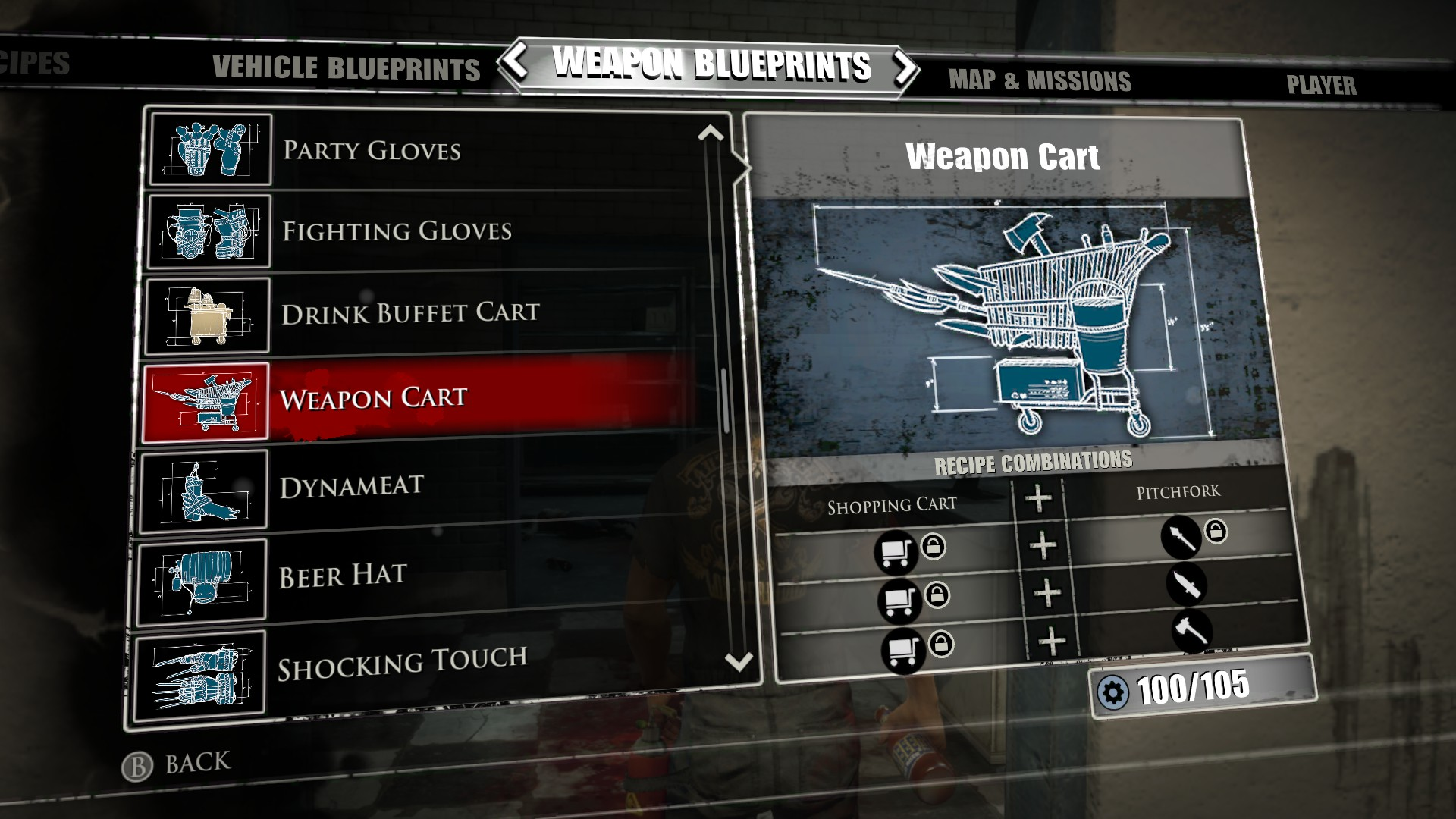 Weapon cart dead rising 3 dead rising wiki fandom powered by wikia weapon cart dead rising 3 malvernweather Gallery
