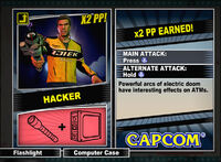 Dead rising 2 combo card Hacker